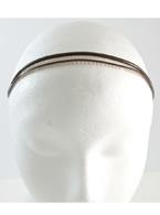 Double Brown Jelly Headband