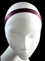 Purple Satin Headband